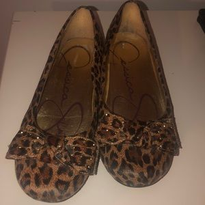 Cheetah Print Slip on shoes